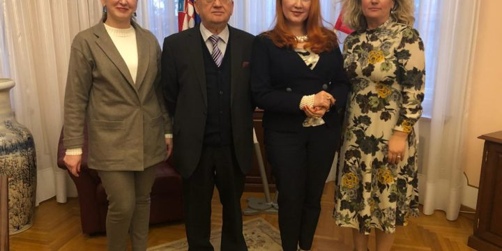 Meeting with the Ambassador of the Russian Federation to the Republic of Croatia.