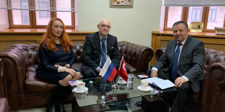 Meeting with the Chief trade Adviser of the Embassy of the Republic of Turkey Выделите текст, чтобы посмотреть примеры