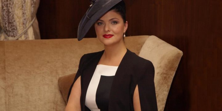 Anna Komkina-Director of the Department of etiquette, style and culture of business communication.