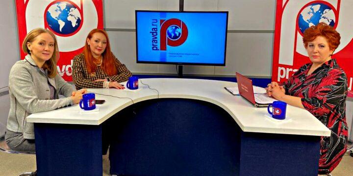 "Guest of the program ""Woman of the Third Millennium"" – Margarita Rusetskaya"