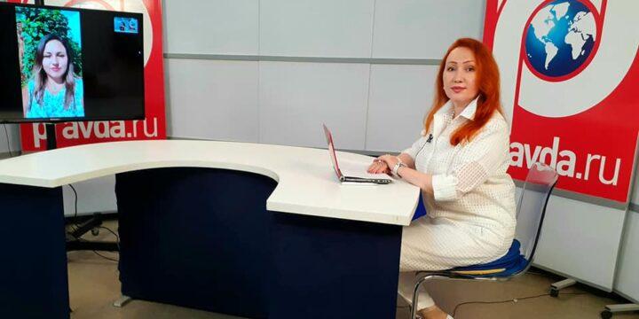Передача на Медиахолдинге Правда.ру была посвящена Фестивалю «Руками женщины»