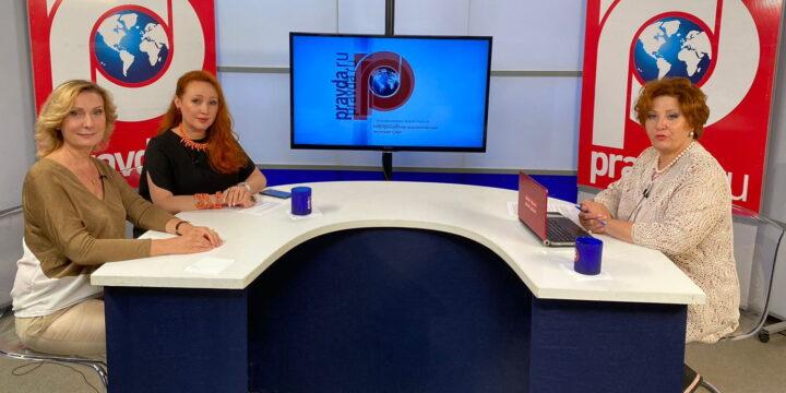 Передача «Женщина третьего тысячелетия» с Председателем Комитета Совета Федерации РФ по социальной политике.