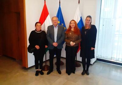 New horizons in international women's entrepreneurship. Meeting at the Hungarian Embassy