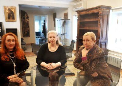 Meeting at the Struysky estate