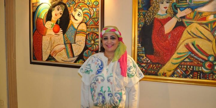 """Art Association """"Kahraman"""" (Iraq) at the Festival """"By the hands of a woman"""""""